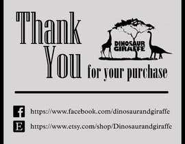 #2 cho Create Care Tag & Thank you for purchase tag for Merchandise bởi mringeniouss