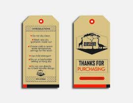#20 cho Create Care Tag & Thank you for purchase tag for Merchandise bởi samsonnahar11
