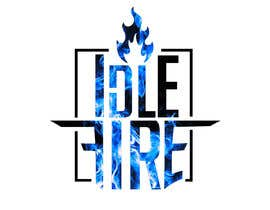 nº 62 pour Idle Fire Band logo par leonardodonelli