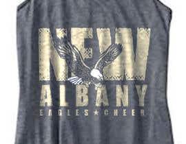 #322 cho New Albany Eagles Cheer Tee Designs bởi GDProfessional