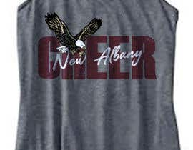 #332 cho New Albany Eagles Cheer Tee Designs bởi GDProfessional