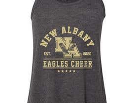 #540 cho New Albany Eagles Cheer Tee Designs bởi masudrafa
