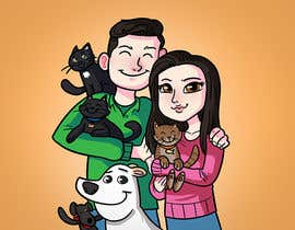 #39 for Illustrated Family Portrait by RRamirezR