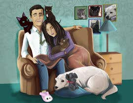 #40 for Illustrated Family Portrait by johnchhana