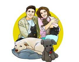 #13 for Illustrated Family Portrait by berragzakariae