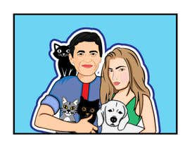 #28 for Illustrated Family Portrait by histhefreelancer