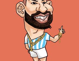 #13 for Funny Football Player Caricature by SarahOlives
