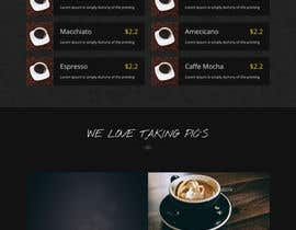 #44 cho landing page design for a coffee and tea online store bởi akderia99