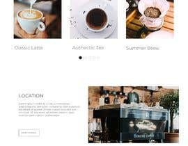 #34 cho landing page design for a coffee and tea online store bởi fauziostudio