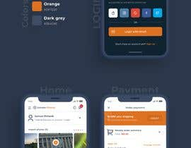 #63 для Design pages in an app using using wireframe as a guide от aminansar