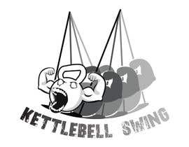 LiviuGLA93 tarafından Design a T-Shirt for KettleBell swing için no 9