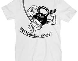 #17 for Design a T-Shirt for KettleBell swing by diptobiswasiu