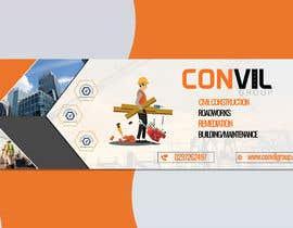 #98 для Banner for Construction Company от khadizahuda