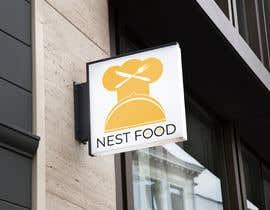 #34 for Build a logo for NestFood af litonahmed87
