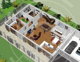 Nro 33 kilpailuun Residential Villa käyttäjältä kayps1