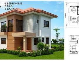 Nro 39 kilpailuun Residential Villa käyttäjältä shamimchy2000