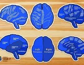 Nro 71 kilpailuun Create a set of consistent and sexy brain stickers käyttäjältä JSPonte