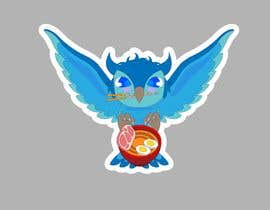 #51 untuk Owl artwork for sticker oleh EdgardoRC