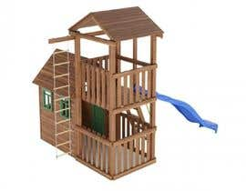 nº 11 pour Design a child's outdoor play construction from wood par ARTandFASHION