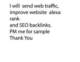#37 cho I want to generate traffic to my website bởi shamim7raj