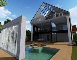 #9 для Architectur Extension building + Wintergarden + Office + Terrace + Pool от DhruvKarmokar