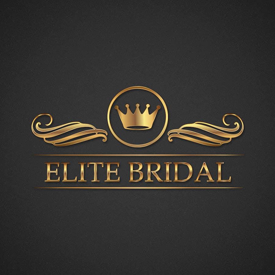 """Kilpailutyö #97 kilpailussa Logo design for a bridal boutique called """"Elite Bridal"""""""