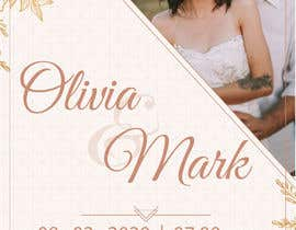#20 for Design template for wedding solution by appetkova