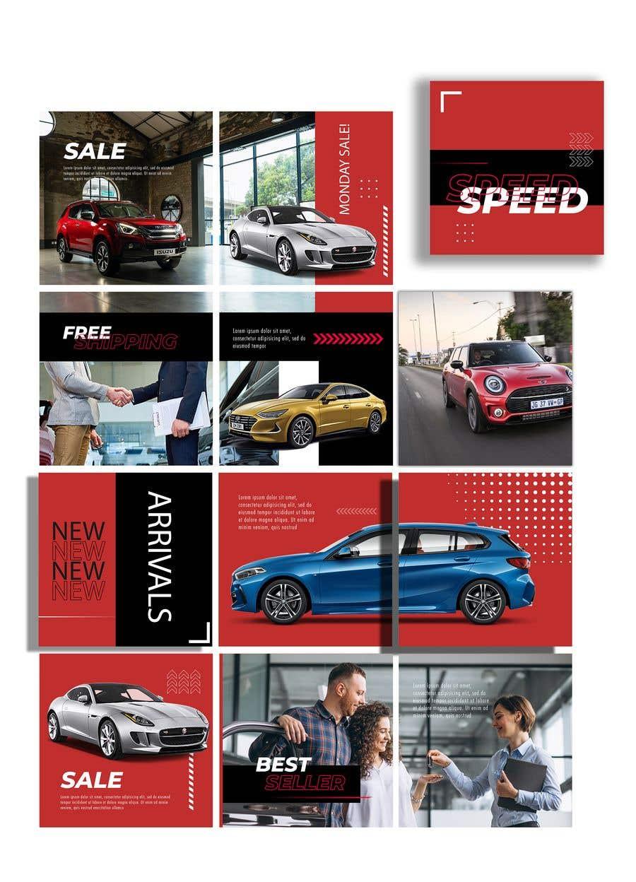 Inscrição nº                                         3                                      do Concurso para                                         Design an Instagram puzzle template + brand kit for a Car Detailing business