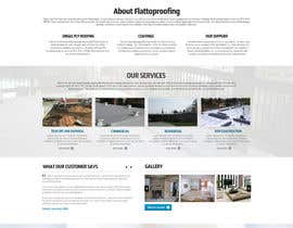 #5 cho Website design for Roofing company bởi nikil02an