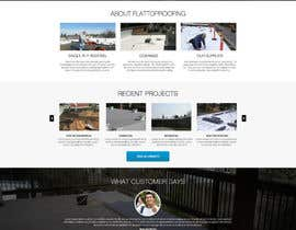 #18 cho Website design for Roofing company bởi nikil02an