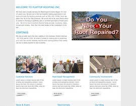 #10 cho Website design for Roofing company bởi webidea12