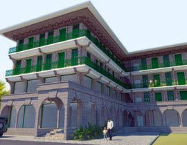 #29 cho 3 D Elevation for a Commercial Building bởi Tessaldi