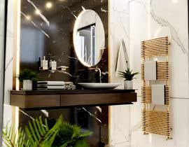 #25 cho Master bathroom design bởi archvizwork
