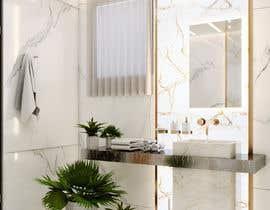 Nro 33 kilpailuun Master bathroom design käyttäjältä archvizwork