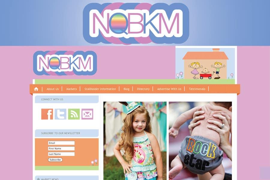 Proposition n°                                        18                                      du concours                                         Logo Design for NQBKM