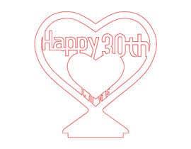 #11 für Make a heart shape vector design - SVG format, AI von panwarsonu1985
