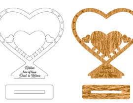 #33 für Make a heart shape vector design - SVG format, AI von aamiraami62