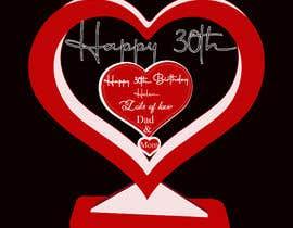 #36 für Make a heart shape vector design - SVG format, AI von musfekaferdous98