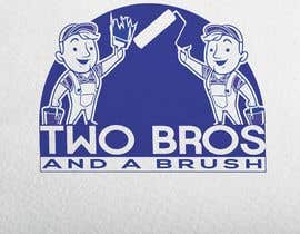 #29 для Logo for Two Bros And A Brush от bdonlineit1
