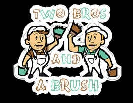 #20 для Logo for Two Bros And A Brush от mostafashedeed