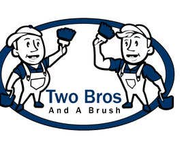 #31 для Logo for Two Bros And A Brush от mostafashedeed
