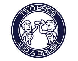#64 для Logo for Two Bros And A Brush от mostafashedeed