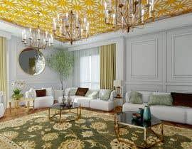 Nro 73 kilpailuun 3D Modern classic interior design living room käyttäjältä oyuci
