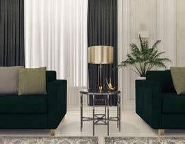 Nro 85 kilpailuun 3D Modern classic interior design living room käyttäjältä samlatte