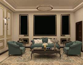 Nro 82 kilpailuun 3D Modern classic interior design living room käyttäjältä hararafi2020