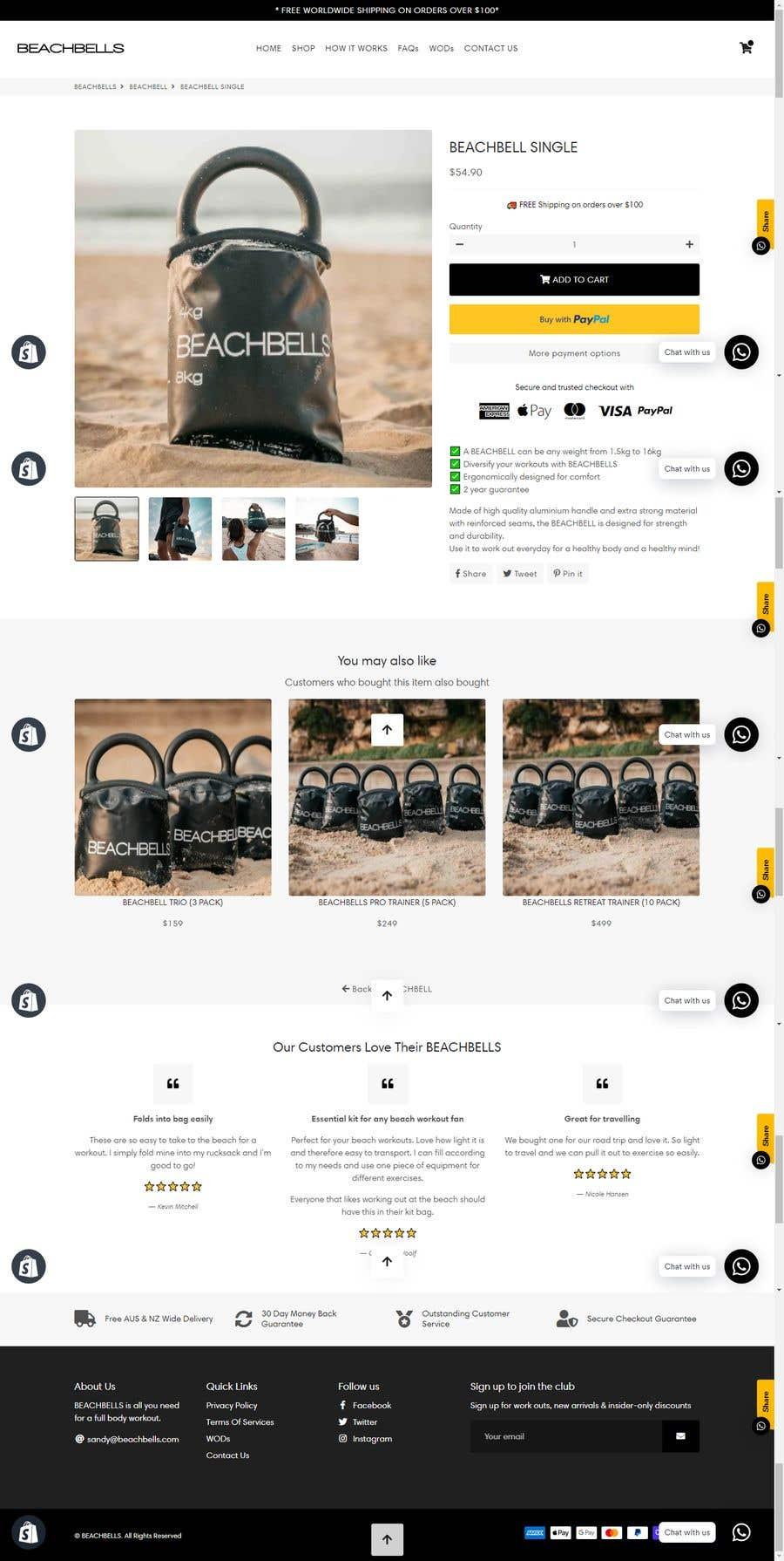 Bài tham dự cuộc thi #                                        7                                      cho                                         Shopify Cart - Needs revamping