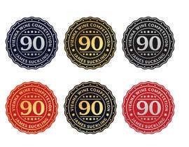 #9 untuk Design of points sticker for wine oleh smizaan