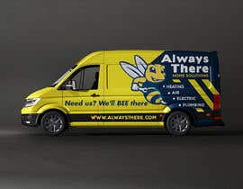 #61 for Vehicle Wrap Design for HVAC company af classicrock