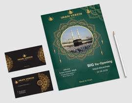 Nro 114 kilpailuun re-opening flyer and business cards for our mosque käyttäjältä Shubhro99