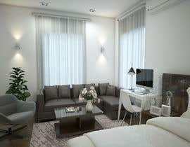 #114 for Design room layout for two 300 sq ft studio apartments by rasheda88